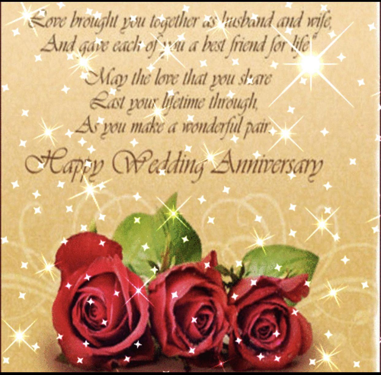Pin By Doris Owen On Happy Annivversary Anniversary Wishes For Friends Happy Anniversary Wishes Happy Wedding Anniversary Wishes