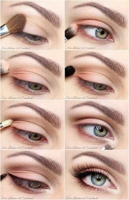pinkunicorn easy and fast everyday eye makeup tutorials