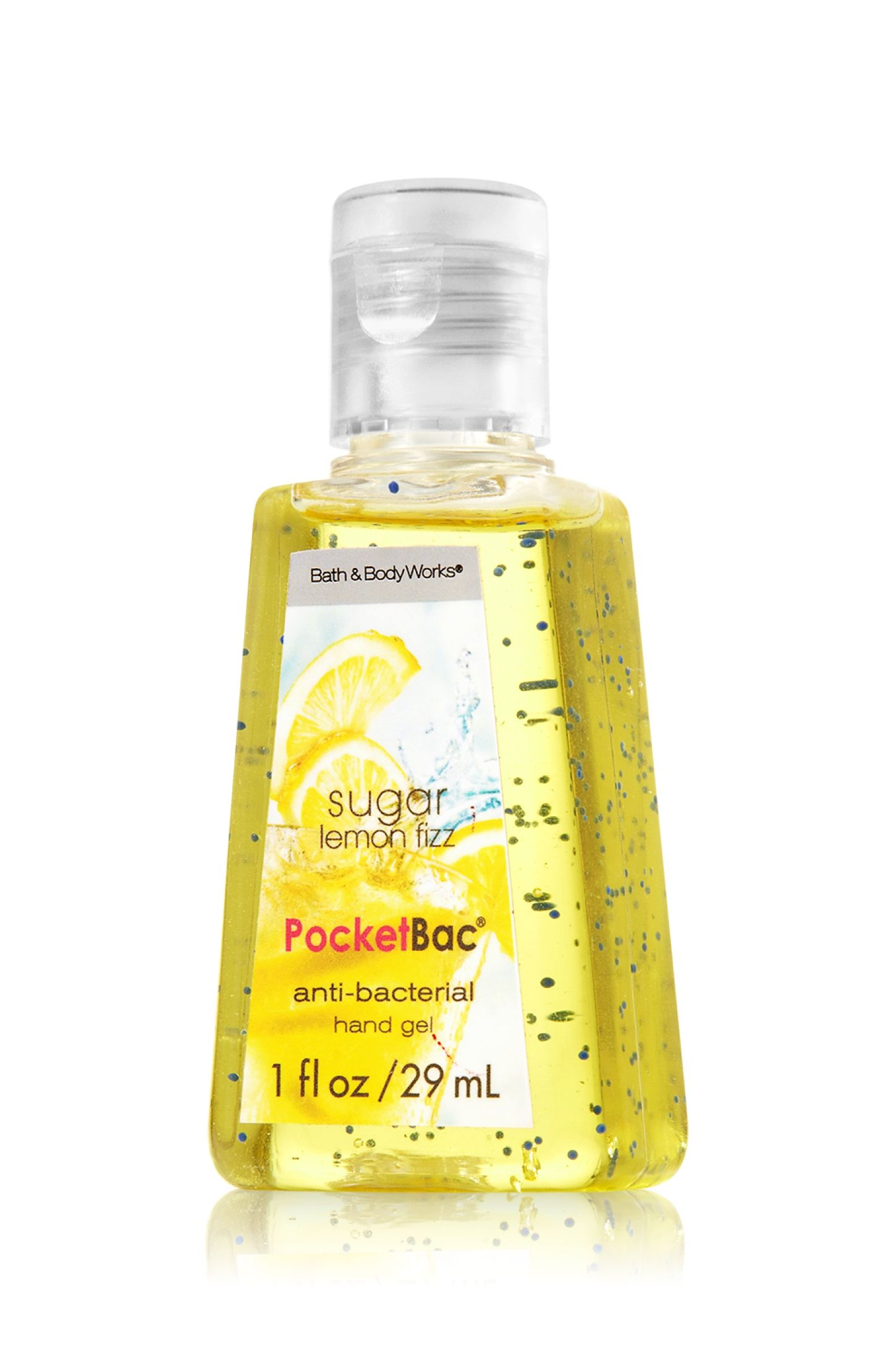 Sugar Lemon Fizz Pocketbac Sanitizing Hand Gel Anti Bacterial