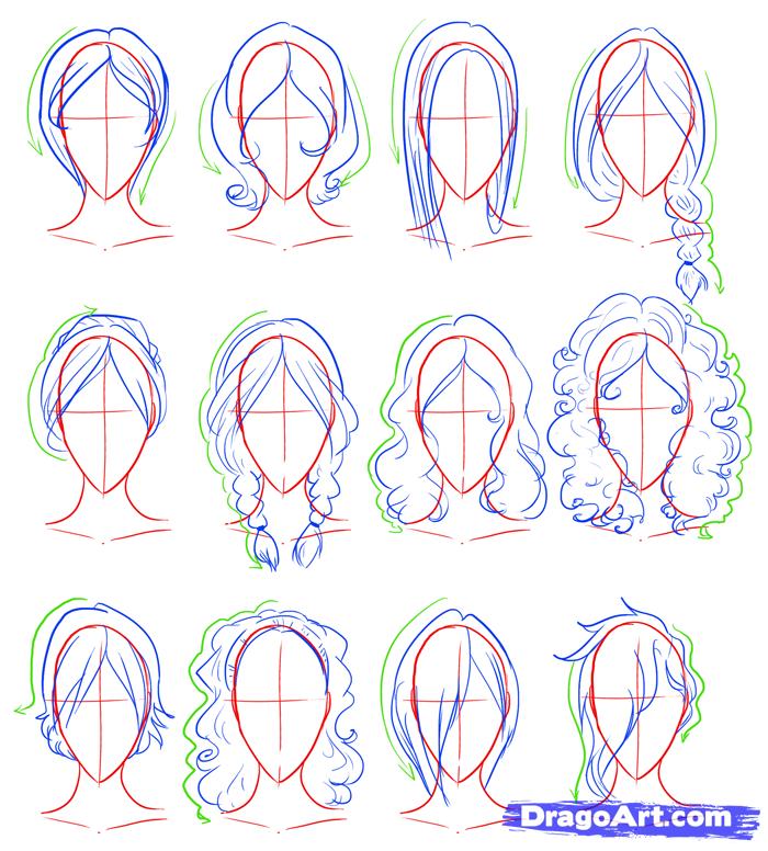 draw female figures