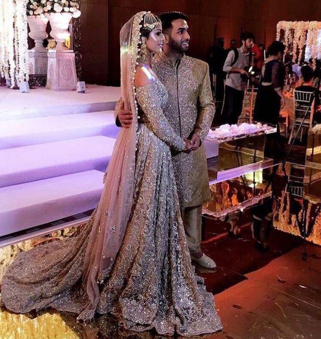 Pakistani Bride Indian Wedding In 2019 Desi Wedding Dresses