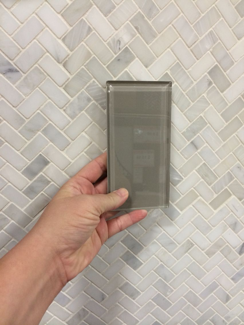 Pure Wool Shiny Glass Tile ($3.99) For The Shower Wall U0026 Carrera White  Marble