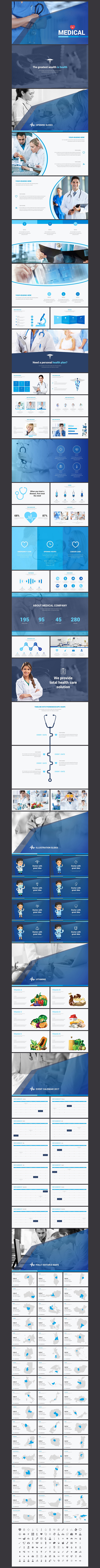 Medical powerpoint template presentations pinterest template medical powerpoint template toneelgroepblik Images