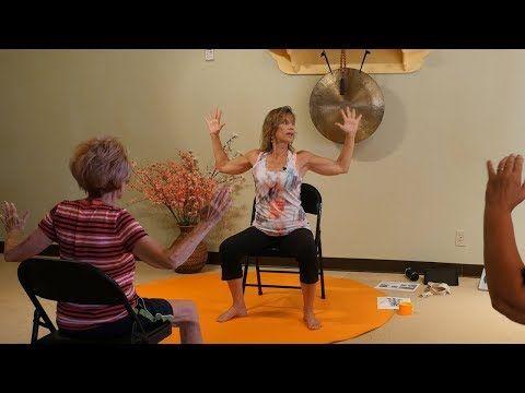 1 hr lively chair yoga class with tatis cervantesaiken
