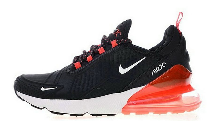 best sneakers 2750a ab4ac Nike Air Max 270 Flyknit Black Red Ah8060 016