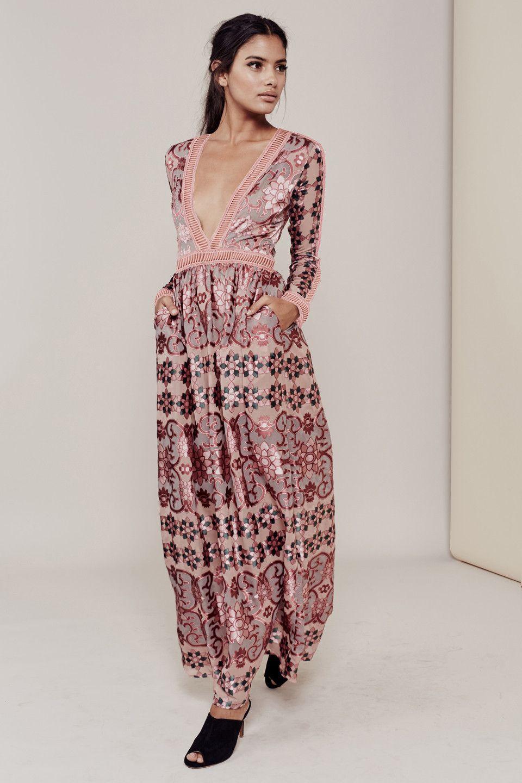 Ab maxi dress