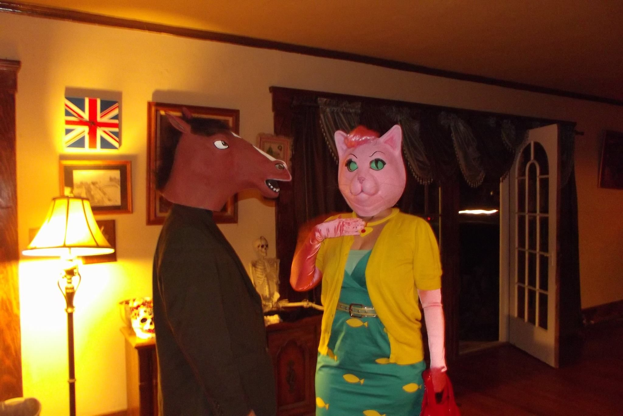 Bojack Horseman & Princess Carolyn costume 2015 Costumes