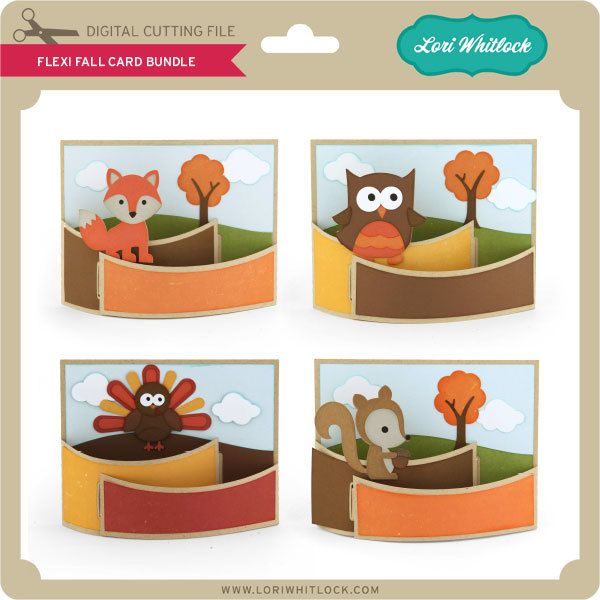 Flexi Fall Card Bundle - Lori Whitlock's SVG Shop