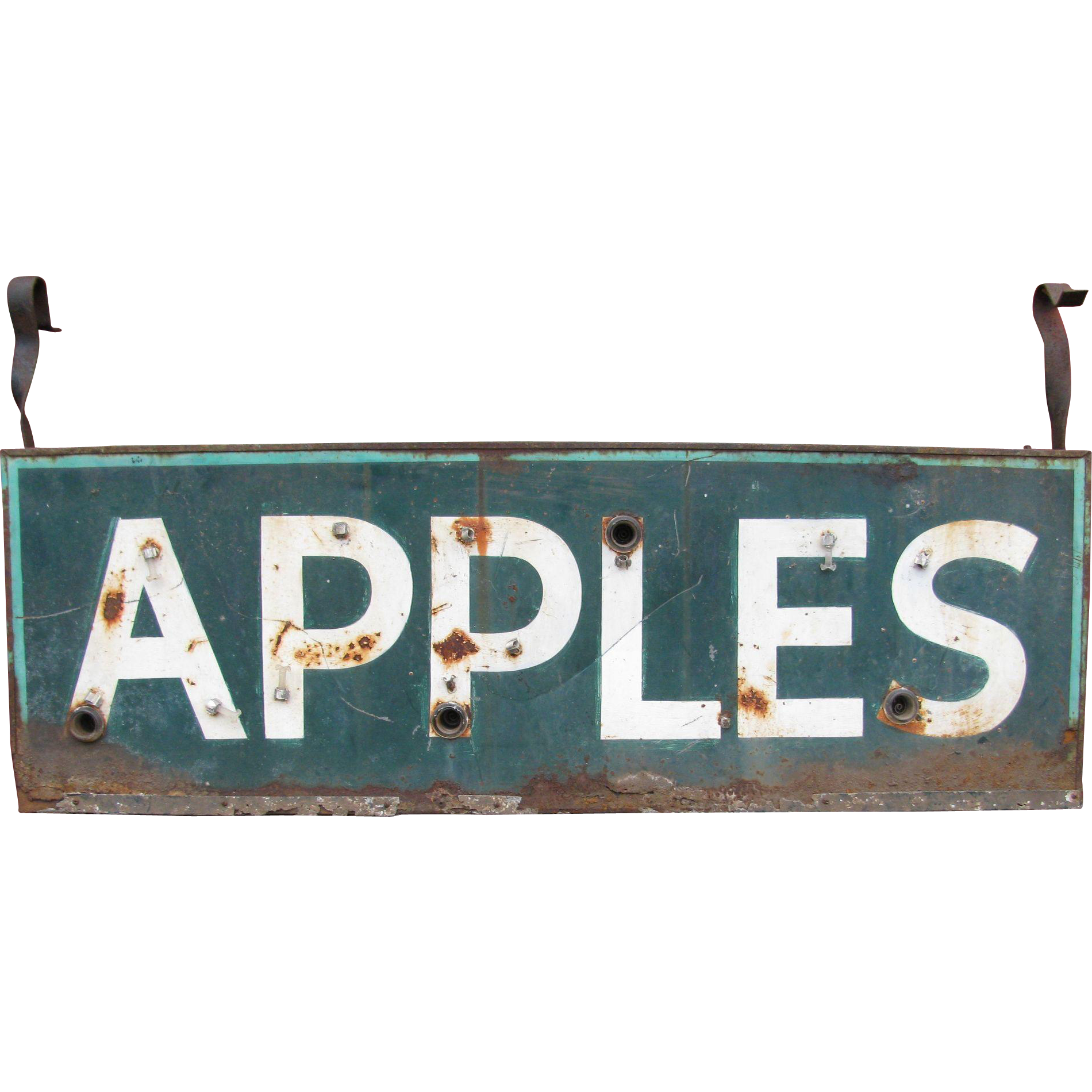 Vintage Ex Neon Apples Sign | Neon, Apples and Vintage advertising signs