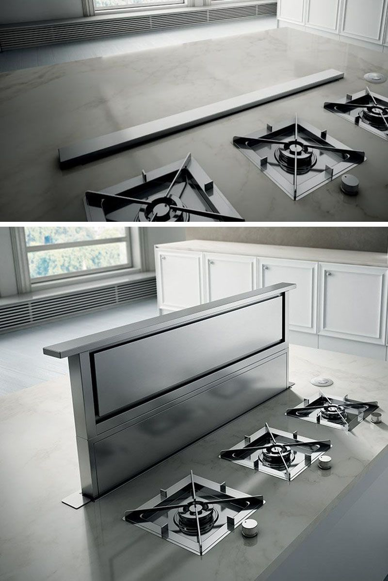 Kitchen Design Idea Hide The Range