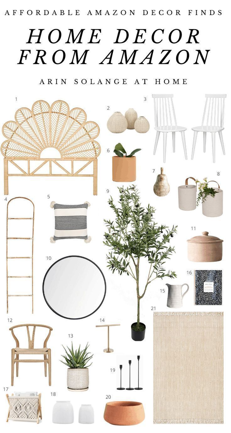 Wondering what to buy on amazon? Amazon is a great place to find unique, affordable home decor. Check out this blog post with Amazon home decor finds and see how I have styled similar items in my home. Rugs, storage, plants and organization items for your living room, bedroom, and more.#homedecor #amazonhome #amazondecor