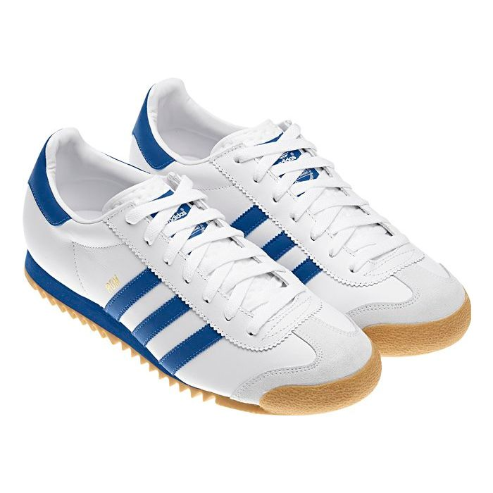 Adidas original mens rom white/blue size 7 8 9 10 11 trainers shoes sneakers  new item description :romthe legacy of these men's adidas originals rom  shoes ...