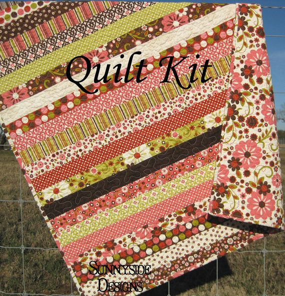 Quilt kit indian summer baby girl crib quilt diy do it yourself quilt kit indian summer baby girl crib quilt diy do it yourself solutioingenieria Images