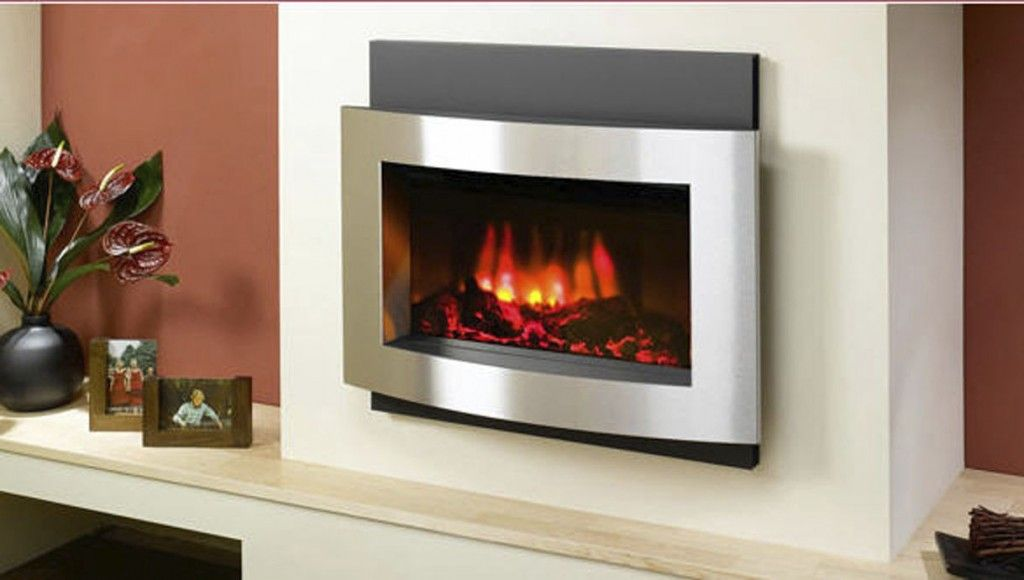 contemporary wall hung electric fireplace | Fireplaces | Pinterest ...