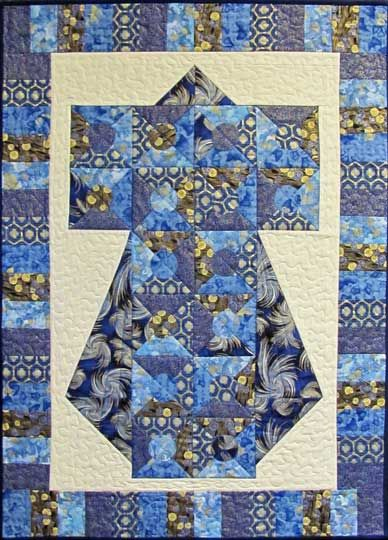 oriental quilt patterns - free kimono, asian, japanese, pieced, fusible applique, quilt ...