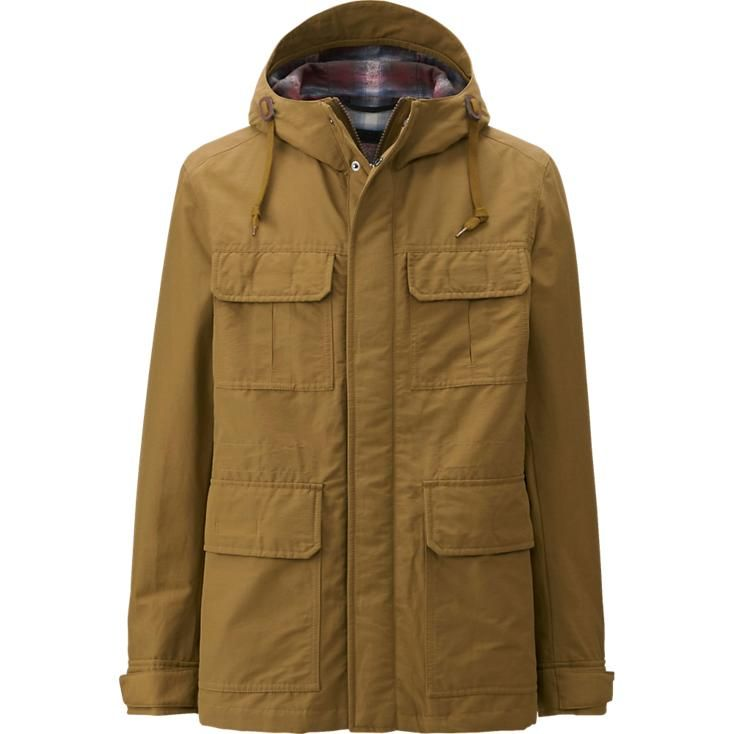 Uniqlo canvas parka
