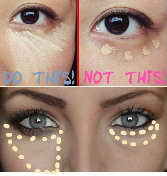How To Properly Apply Under Eye Concealer Https://www
