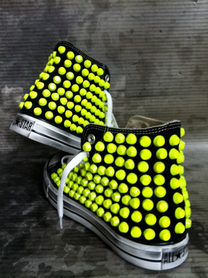 f61d195fd81 Converse All Star Special Edition Fluo available on request at  www.muffinonline.it. HANDMADE WITH LOVE.
