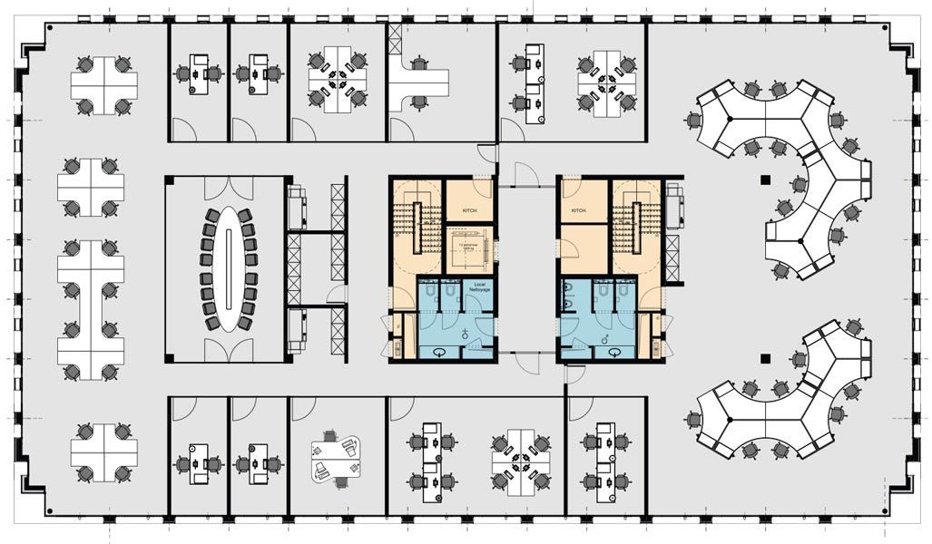 Open Office Space | Only Then Spaceplanning | OFFICE | Pinterest | Open Space  Office, Office Floor Plan Và Open Office