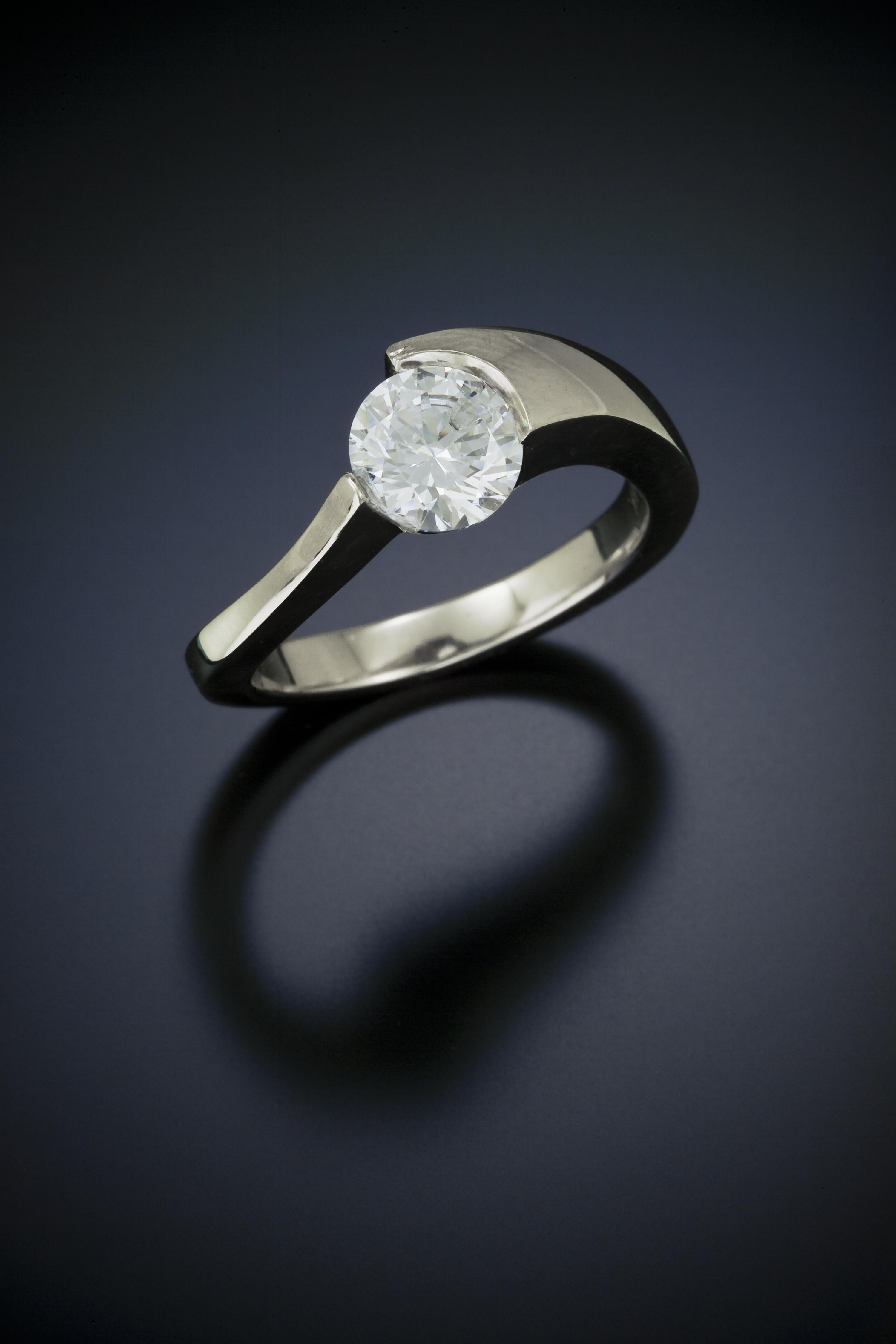 Diamond · Contemporary Engagement Ring