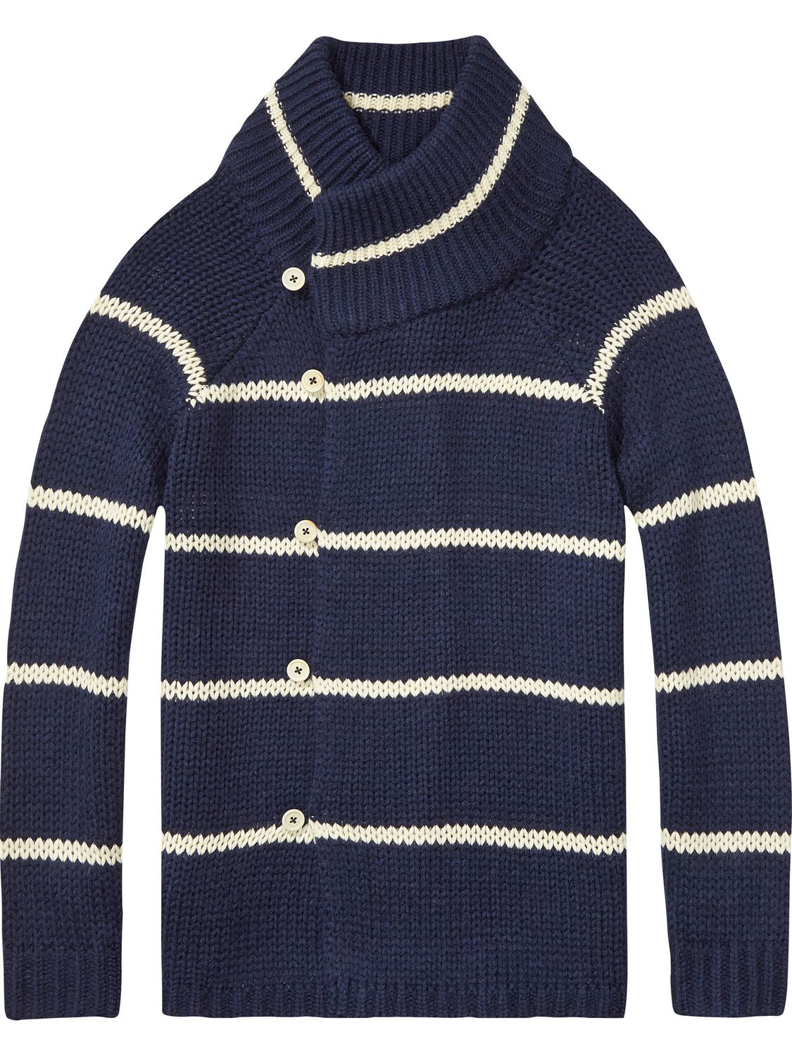 Chunky Cardigan | Home Alone | Pullovers | Men Clothing at Scotch ...
