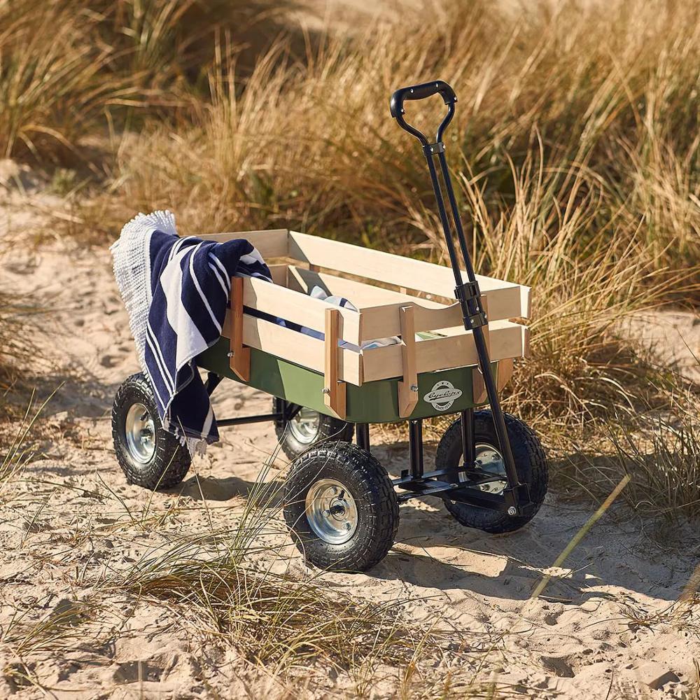 Cyclops Wooden Beach Cart Beach Cart Family Presents Beach