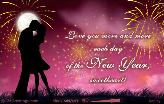 Love You More This New Year Happy New Year Images Happy New Year Quotes Happy New Year Pictures