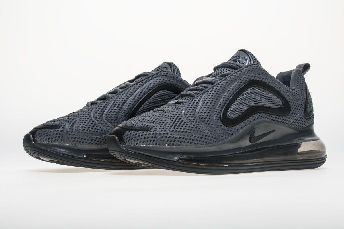 7ef82e96ecbf6 Nike Air Max 720 AO2924-002 Carbone Grey Black Shoes4