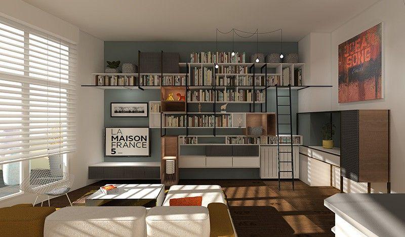 changer cr er des rangements pour habiller un espace. Black Bedroom Furniture Sets. Home Design Ideas