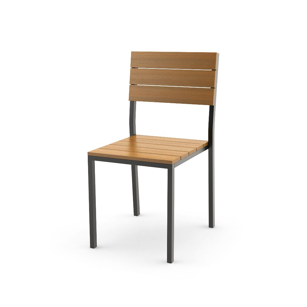 Captivating Ikea FALSTER Chair, Black, Brown Free 3d Model Download