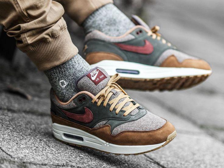 anchura Desfiladero Prestado  Pendleton x Nike ID Air Max 1 (von jkjerulff) - Frauen Schuhe Mode    Herrenmode schuhe, Sneakers mode, Turnschuhe nike