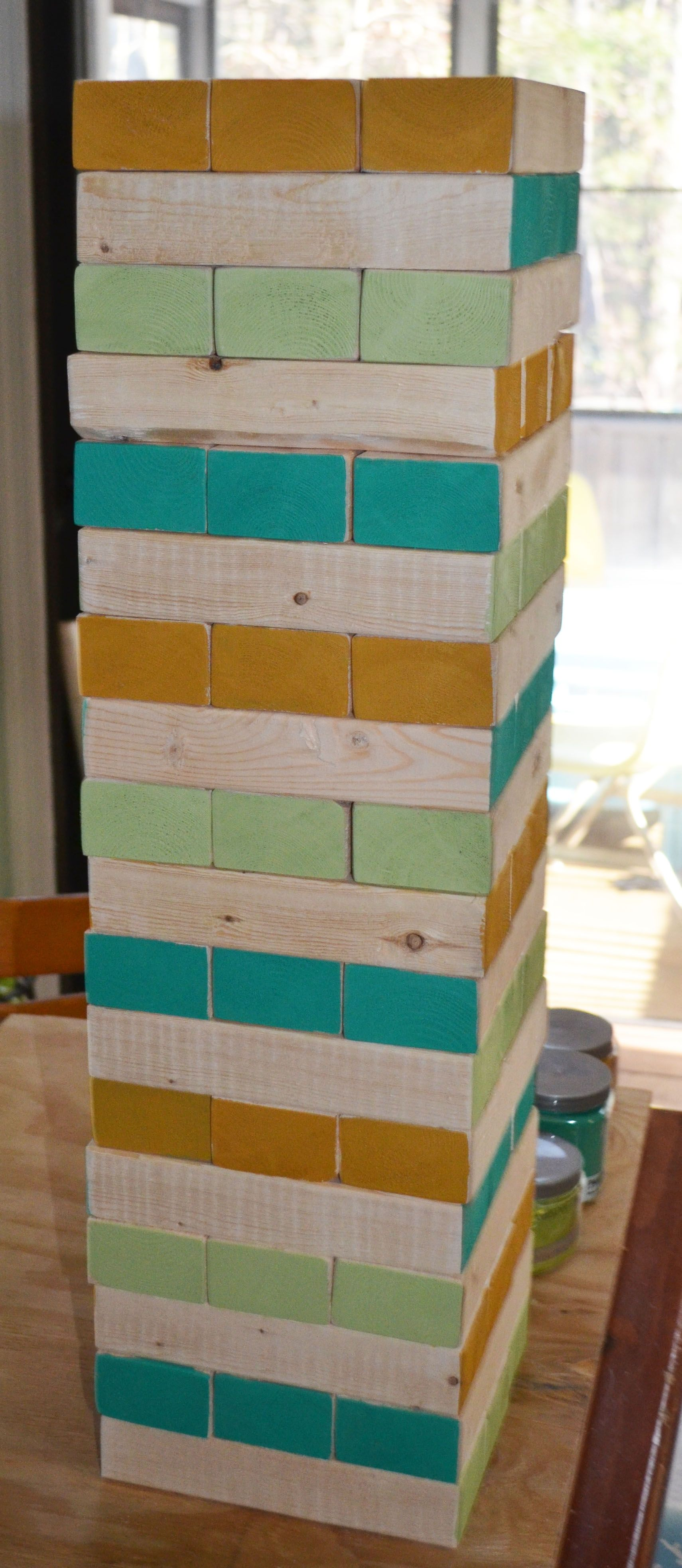 Giant jenga everyone is getting this for christmas this year need an easy do it yourself christmas gift why not make a giant jenga set its quick and easy and a lot of fun to play in the backyard solutioingenieria Image collections