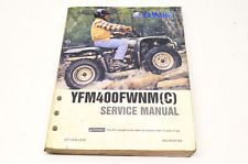 Oem Yamaha Service Manual Yfm400fwnm C In Ebay Motors Parts Amp Accessories Manuals Amp Literature Motorcycle Amp Atv Othe Yamaha Atv Yamaha Manual