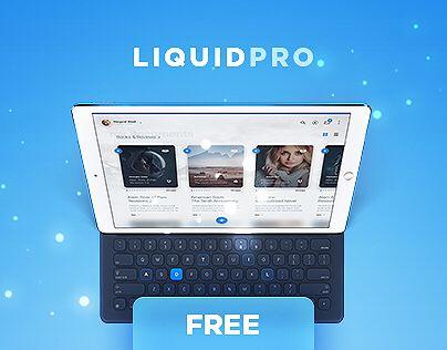 Ознакомьтесь с этим проектом @Behance: «LiquidPro UI Kit - Free Download» https://www.behance.net/gallery/51075529/LiquidPro-UI-Kit-Free-Download