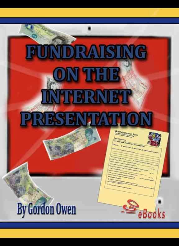 Fundraising On The Internet - Cover design