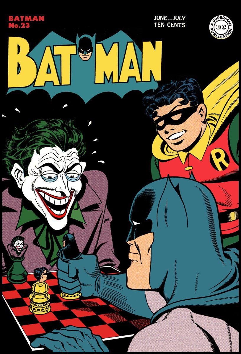 Batman Comic Book Covers Cover Of Batman 23 June July 1944