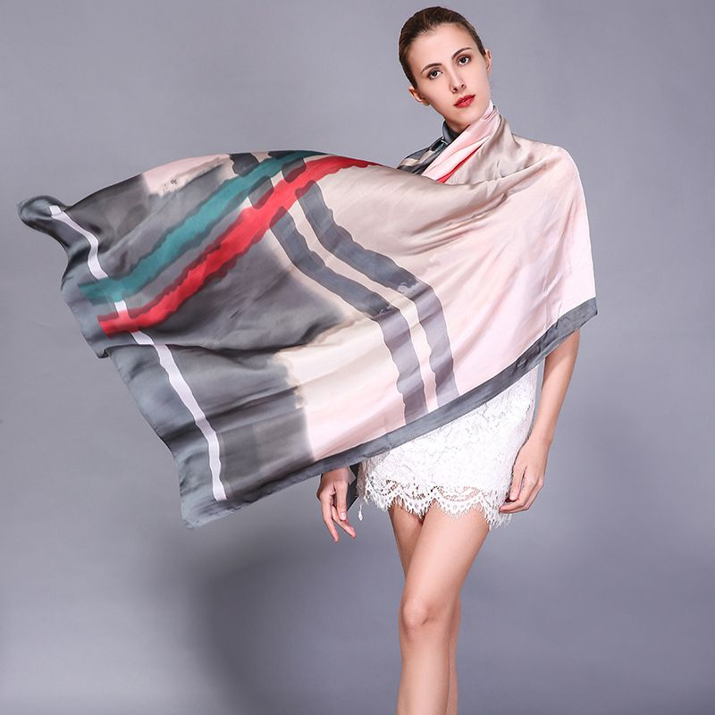 >> Click to Buy << 2017summer Printed Satin Silk Scarves Beach Sunscreen Scarves Sarong,Beach,Pool Cover Up,Scarf,Wrap,Kaftan,Holiday Shawl #Affiliate