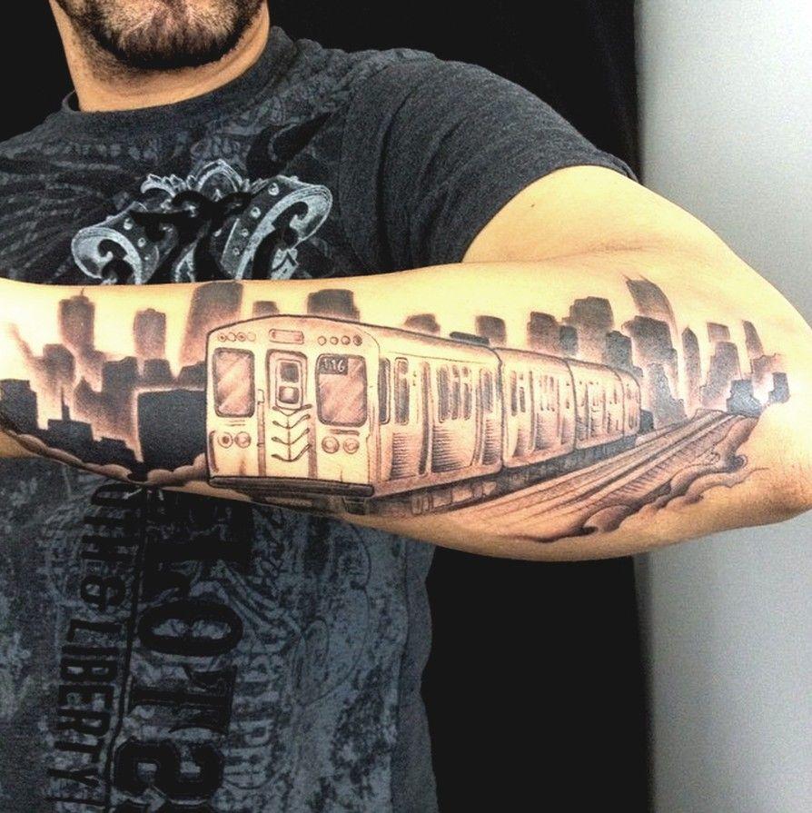 Another Great Chicago Tattoo Art Artofchi Chiart Cta Chicago