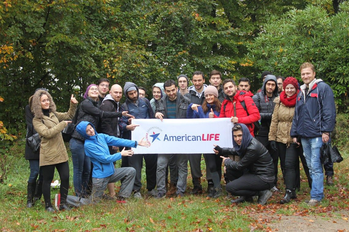 29 Ekim 2016 Trekking Aktivitemiz - American LIFE Kocaeli İzmit