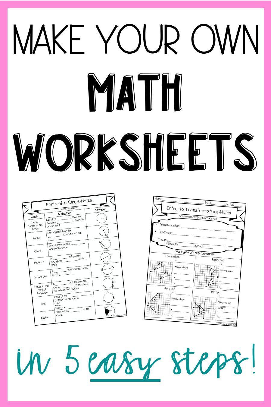 Free Math Resources Cheat Sheet Math Worksheets Math Blog Math [ 1350 x 900 Pixel ]