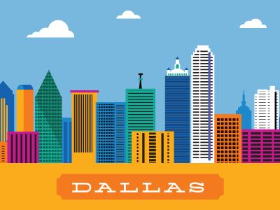 Dallas Skyline Dallas Skyline Skyline Design Skyline