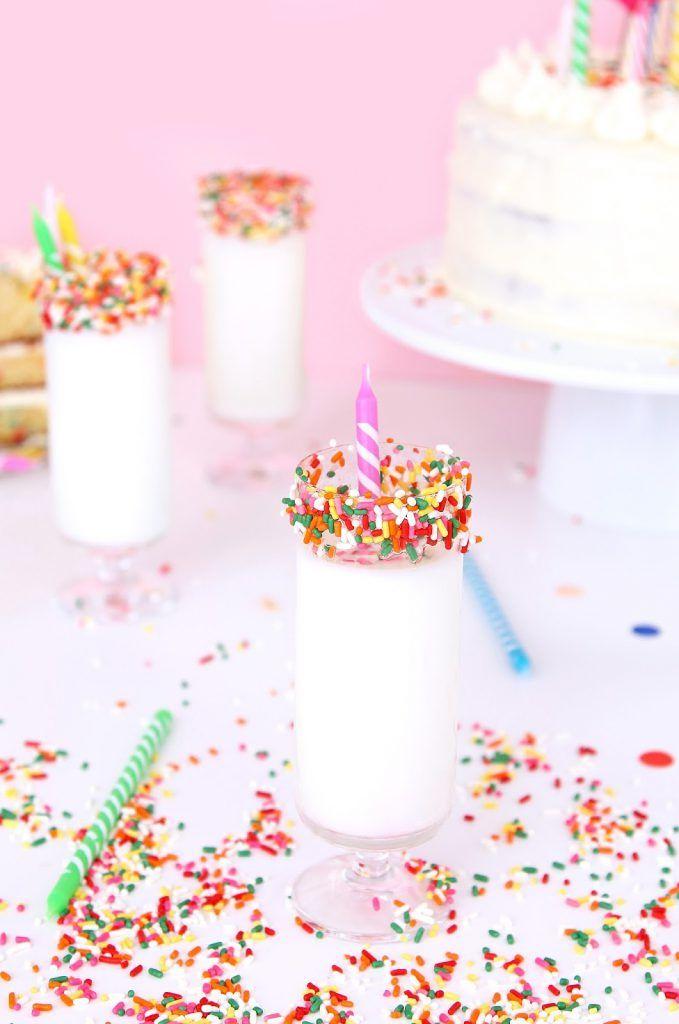 Remarkable Birthday Cake Mocktail Recipe Mocktail Recipe Birthday Cake Funny Birthday Cards Online Elaedamsfinfo