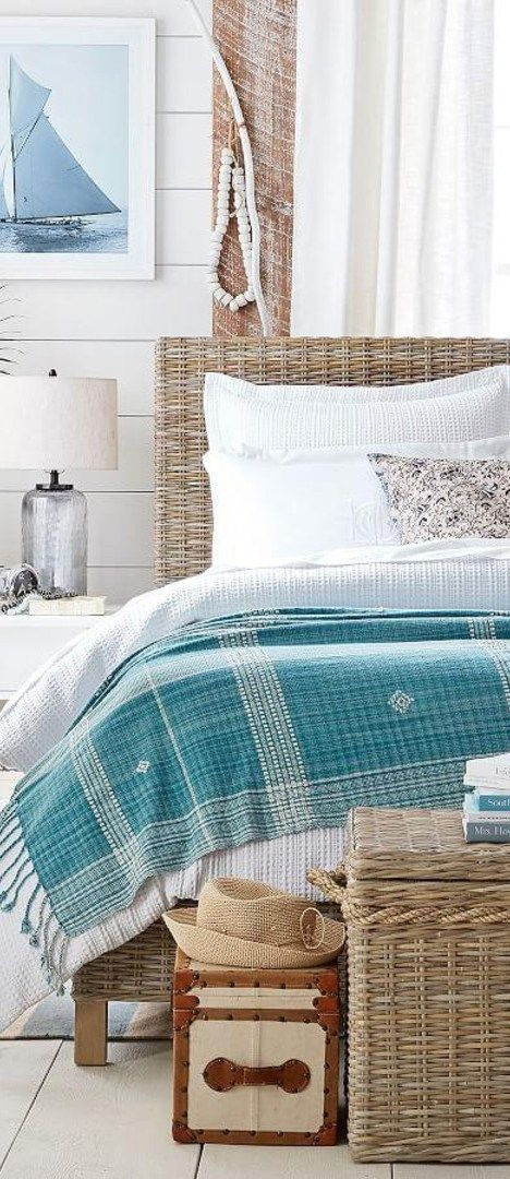 Coastal Decorating Ideas | Coastal bedrooms, Home, Home decor
