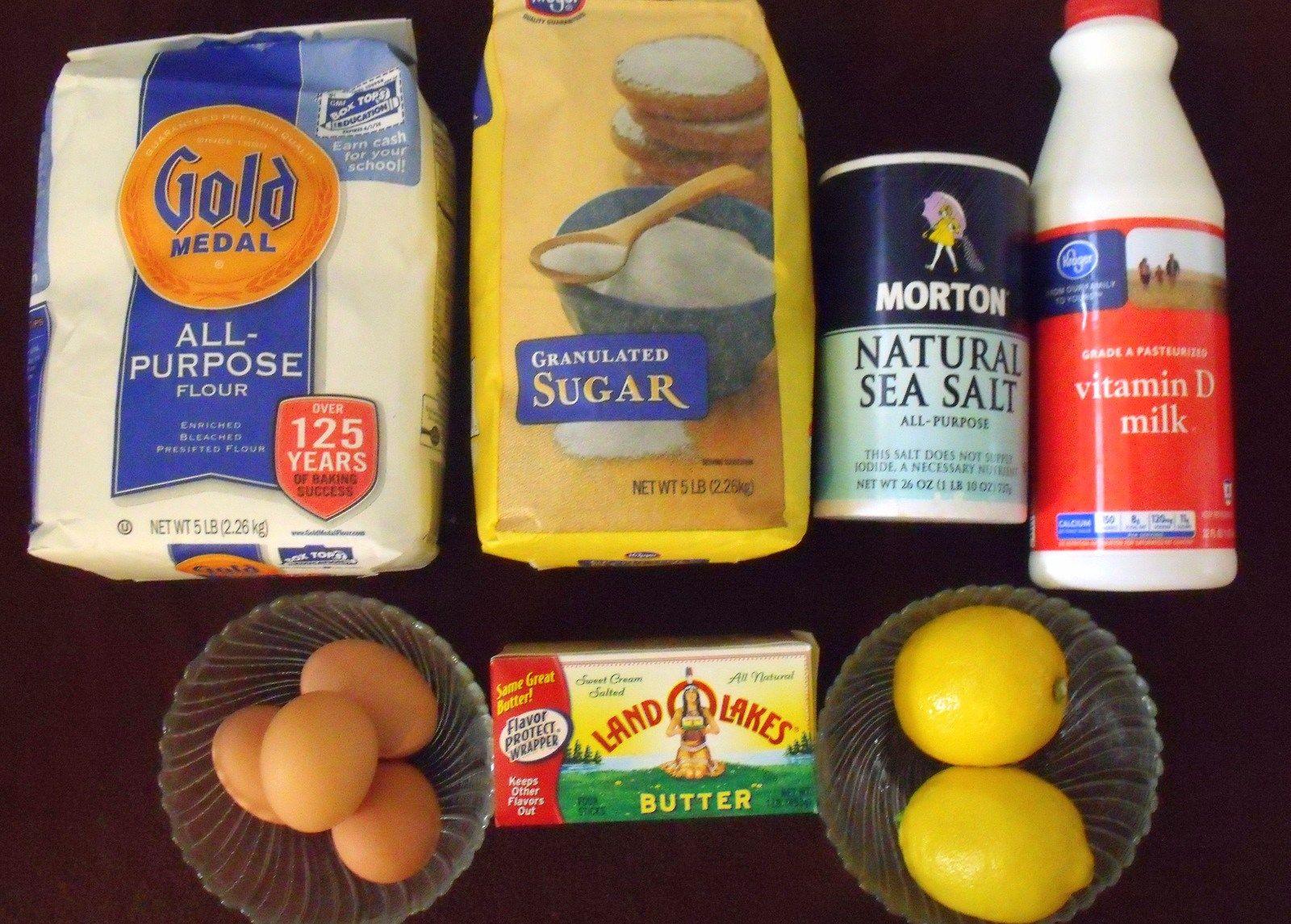 Ingredients for Irish Pancakes