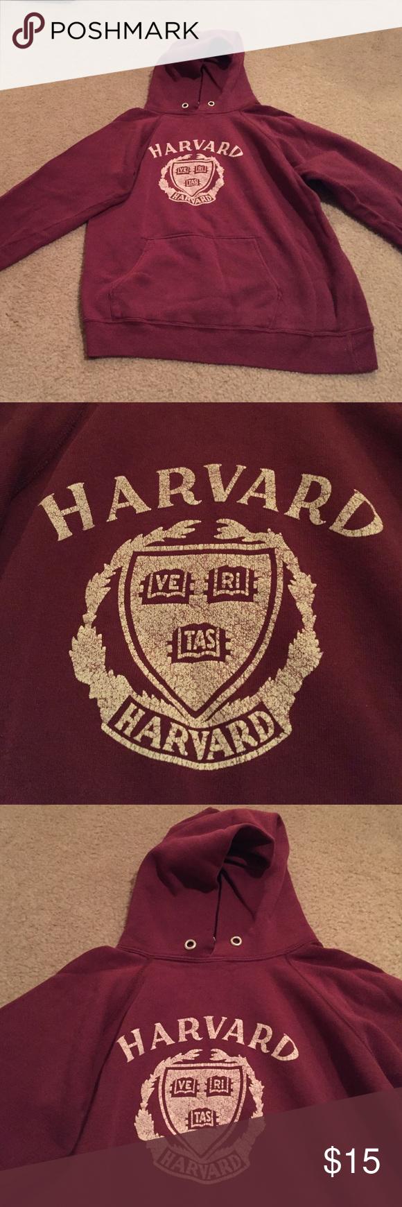 Maroon Large Harvard Sweatshirt Maroon Harvard Large Sweatshirt Champion Tops Sweatshirts & Hoodies