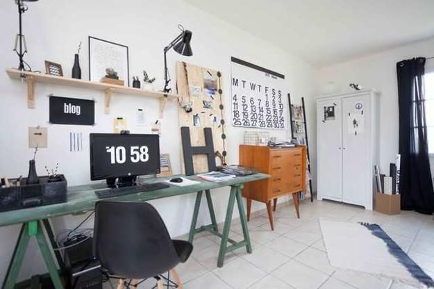 cheap ideas for modern interior design and decor in black and white colors & Inexpensive Ways to Add Flair and Color to Black and White Rooms ...