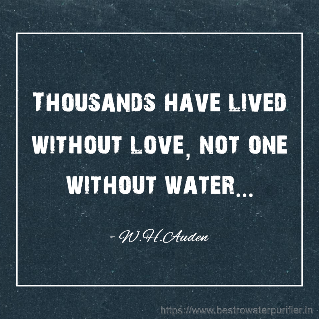 Quotes About Water Thousands Have Lived Without Love Not One Without Water#quotes .