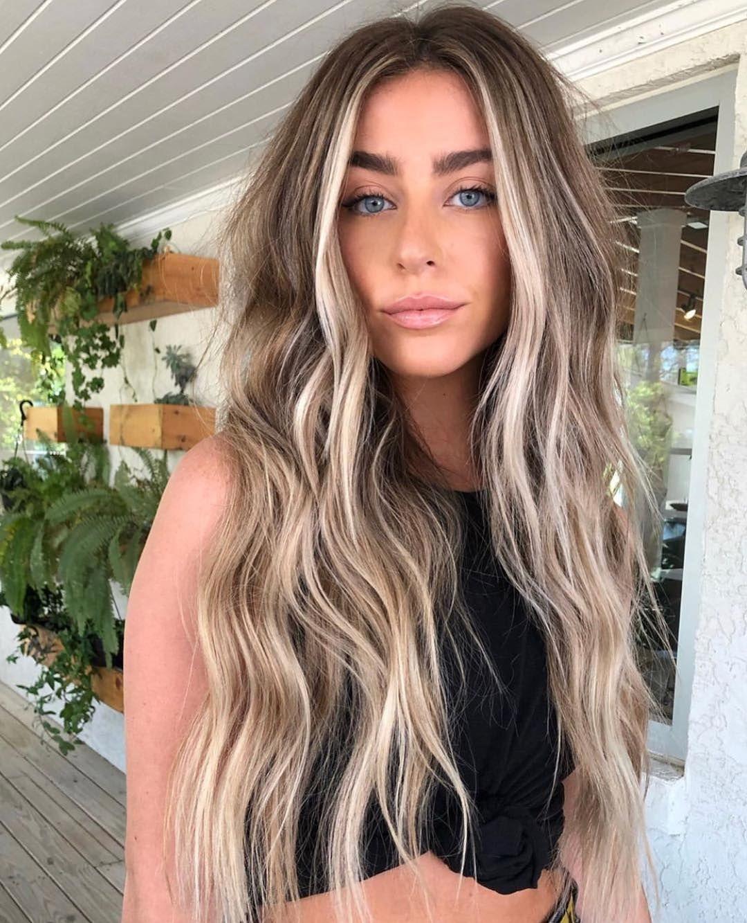 "✨BALAYAGE & BEAUTIFUL HAIR on Instagram: ""Florida Beach Vibes 🏖  By @sara…"