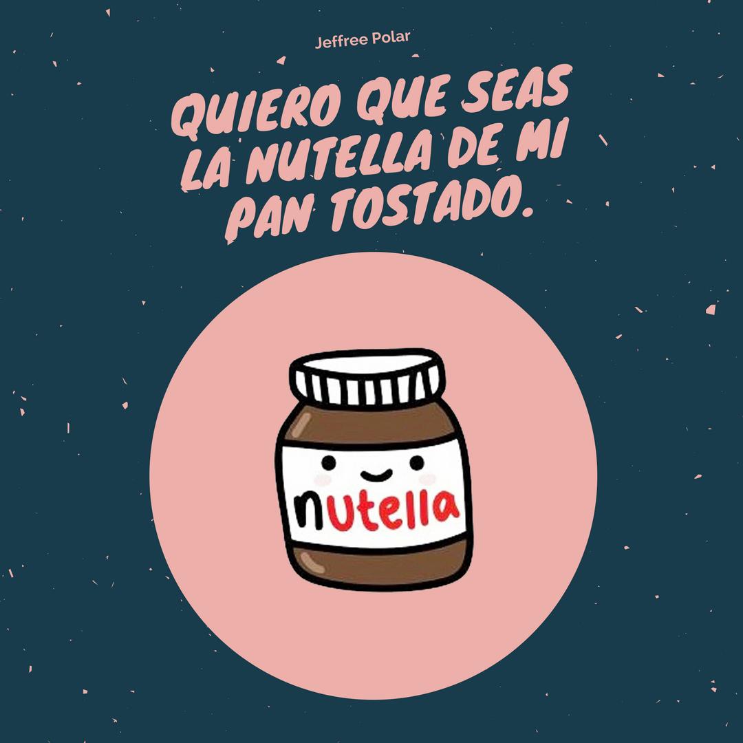 Quiero Que Seas La Nutella De Mi Pan Tostado Jeffree Polar Enamel Pins