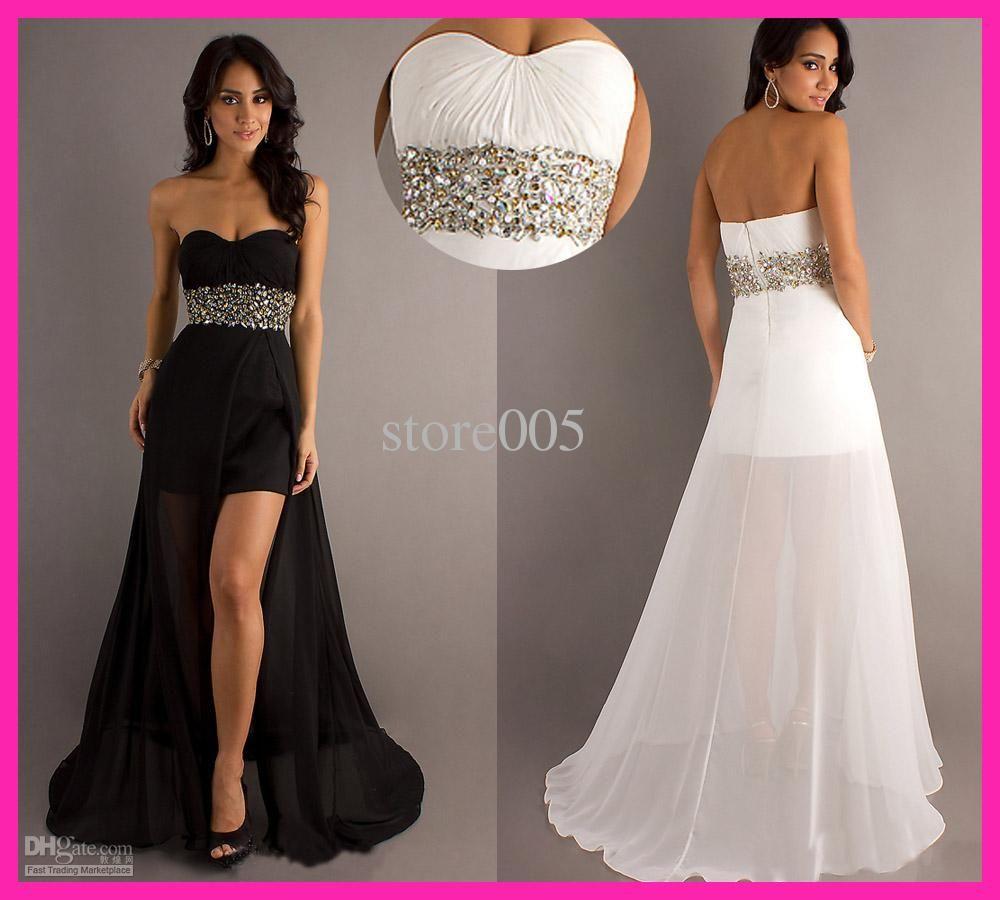 Short Front Long Back Prom Dresses - Ocodea.com